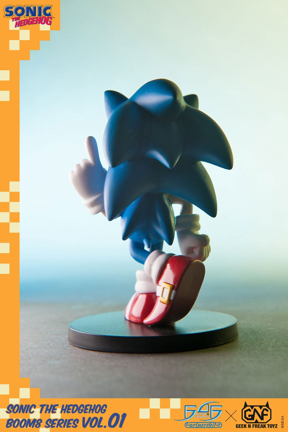 First 4 Figures Sonic The Hedgehog BOOM8 Series Sonic Vol. 01 PVC Figure
