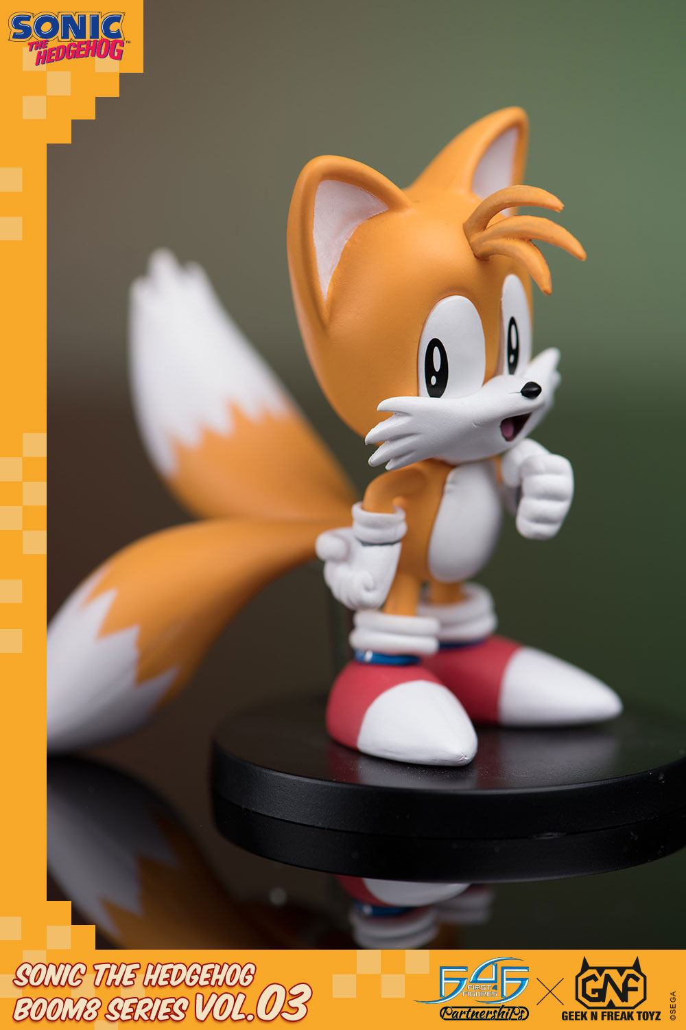 First 4 Figures Sonic The Hedgehog BOOM8 Series Tails Vol. 03 PVC Figure