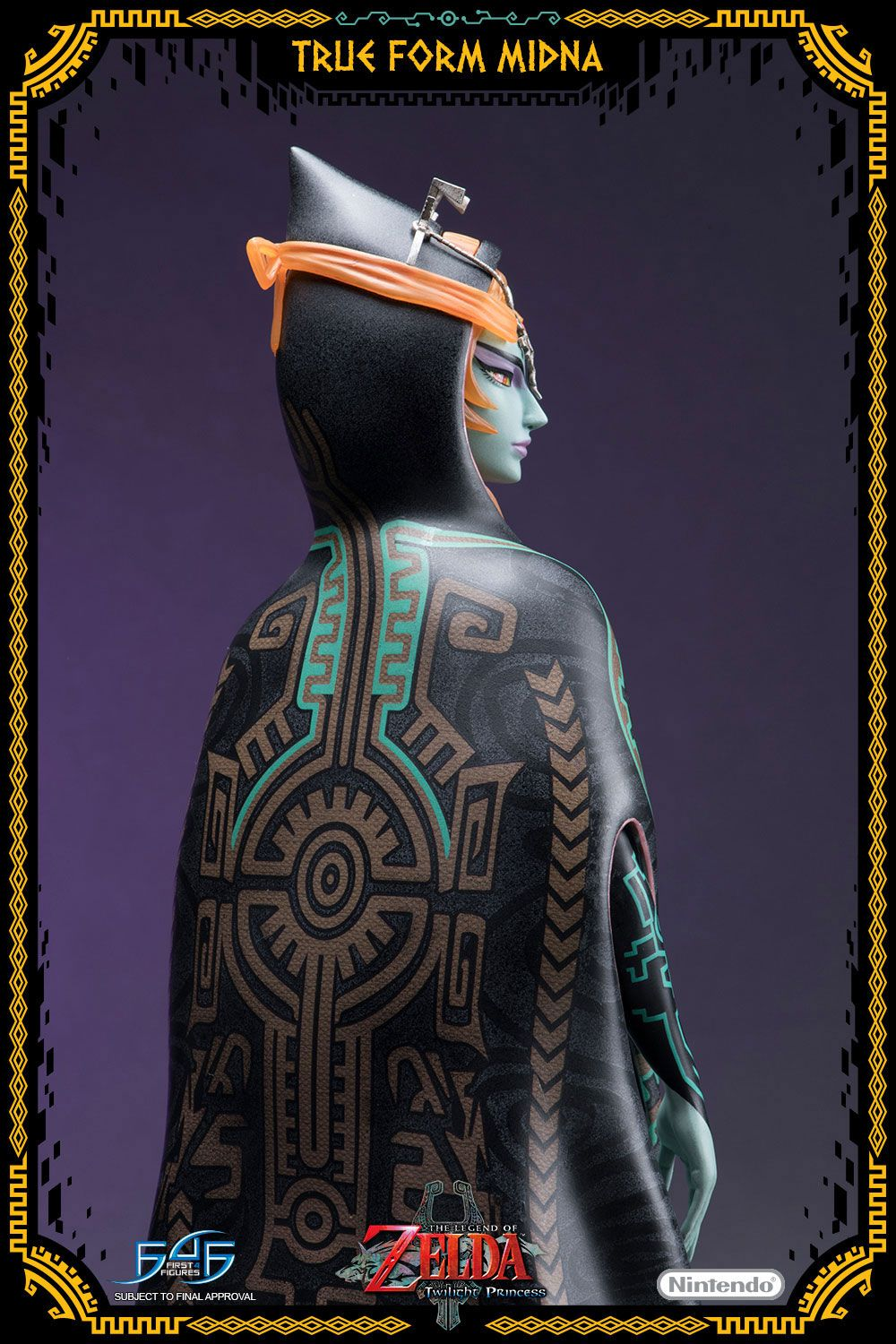 First 4 Figures The Legend of Zelda Twilight Princess True Form Midna Statue