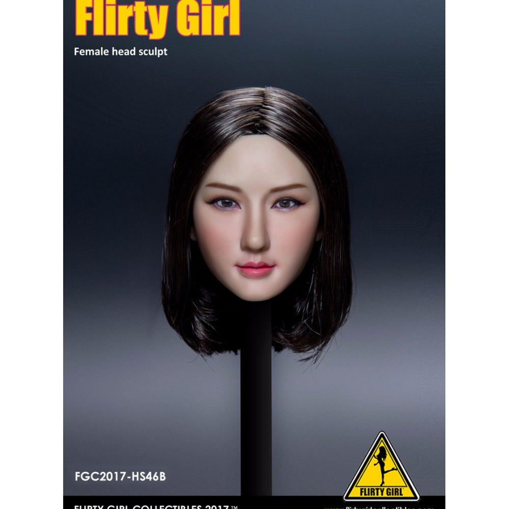 Flirty Girl Collectibles FCG2017 Female Character 1/6 Head