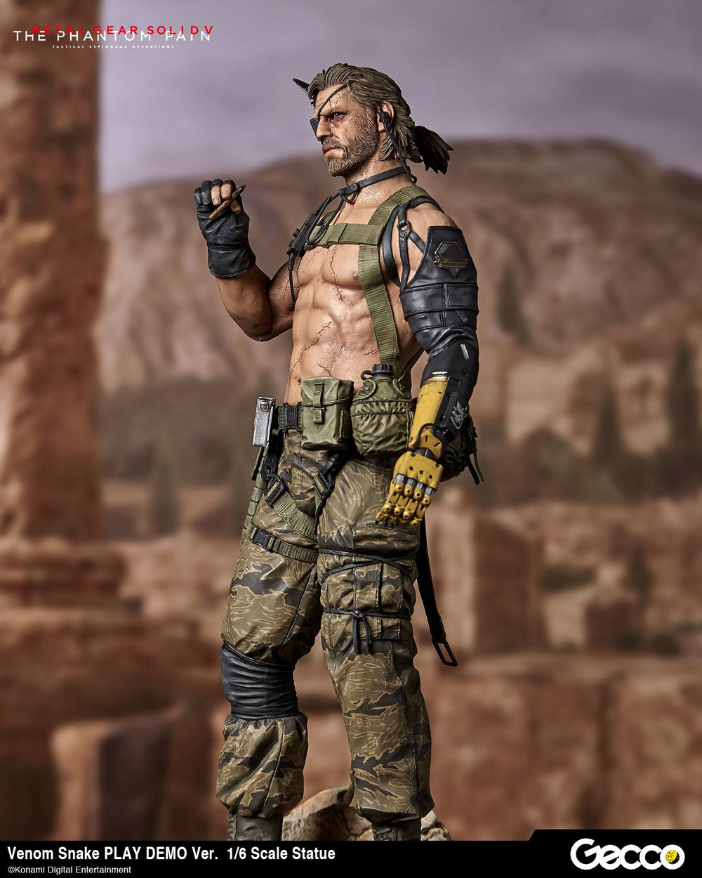 Gecco Metal Gear Solid V: The Phantom Pain Venom Snake Play Demo Version 1/6 Statue