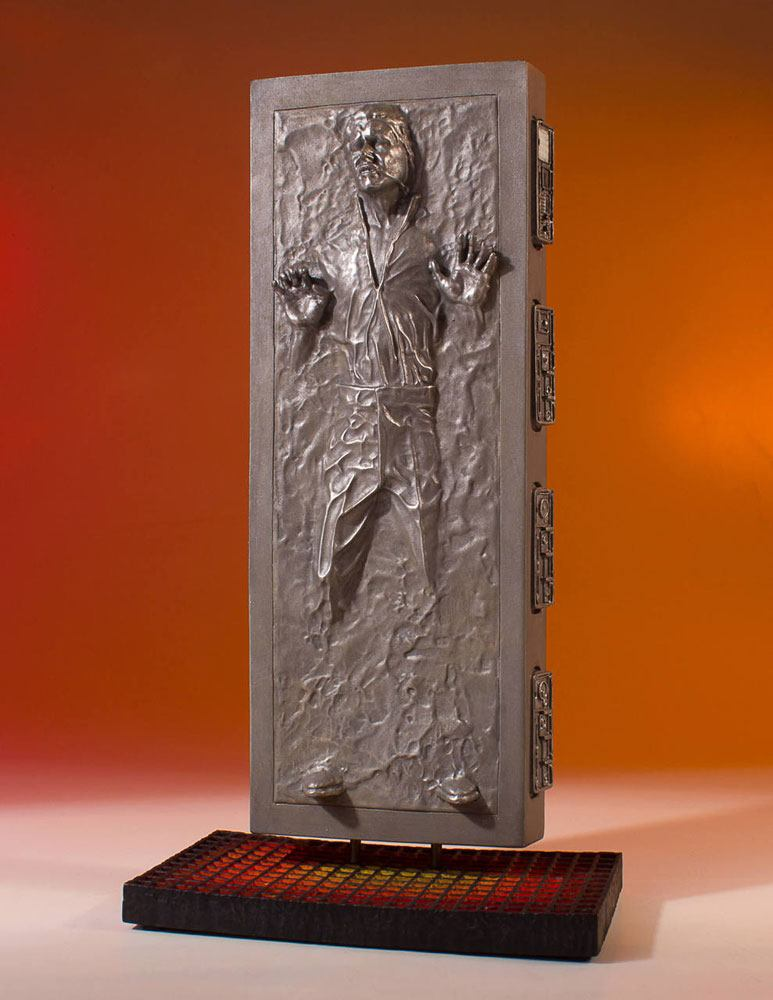 Gentle Giant Star Wars Han Solo in Carbonite Collectors Gallery 1/8 Statue