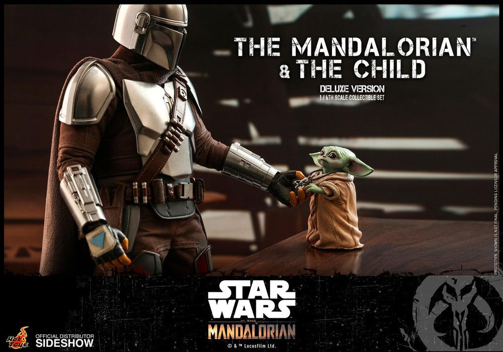 Hot Toys Star Wars The Mandalorian & The Child Deluxe 1/6 Action Figure 2-Pack