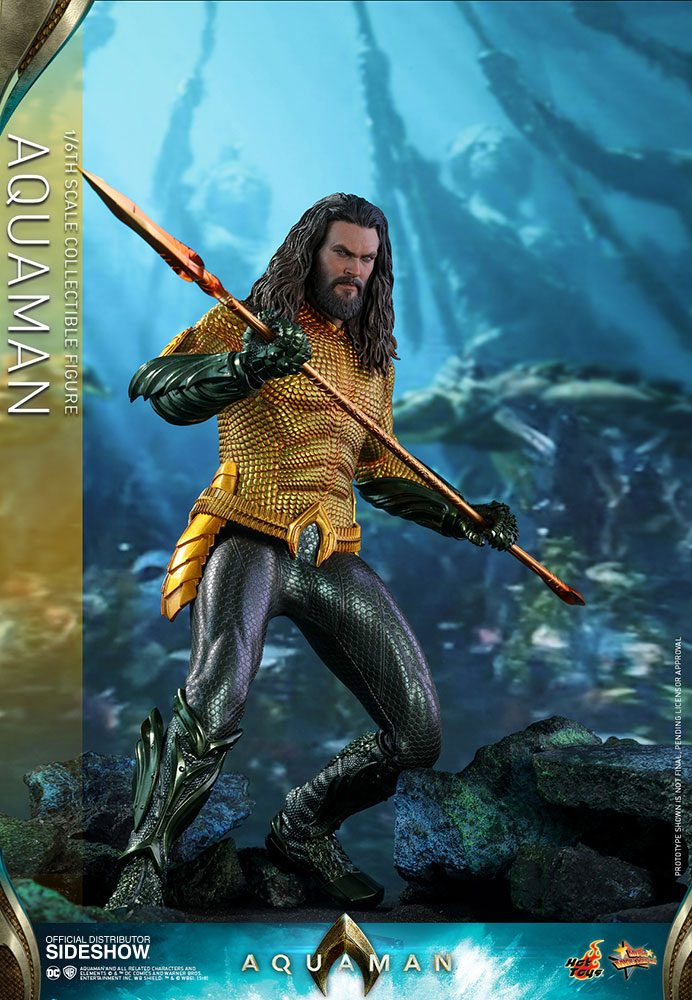 Hot Toys Aquaman Movie Aquaman 1/6 Action Figure
