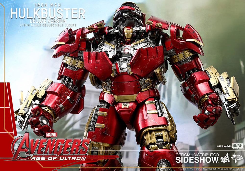 Hot Toys Avengers Age of Ultron Hulkbuster Deluxe Version 1/6 Action Figure
