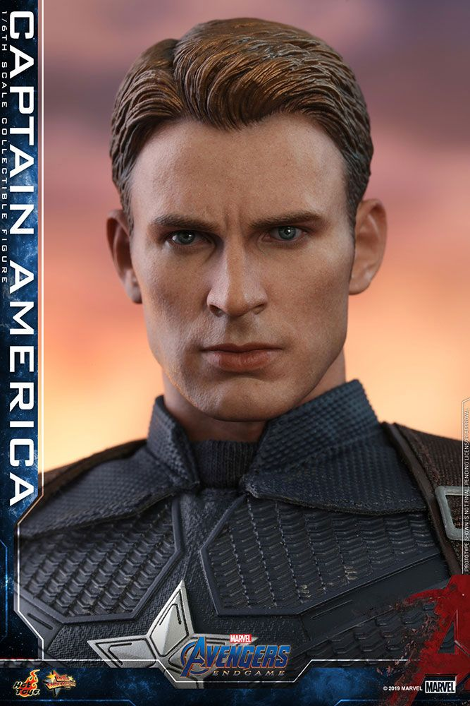 Hot Toys Avengers: Endgame Captain America 1/6 Action Figure