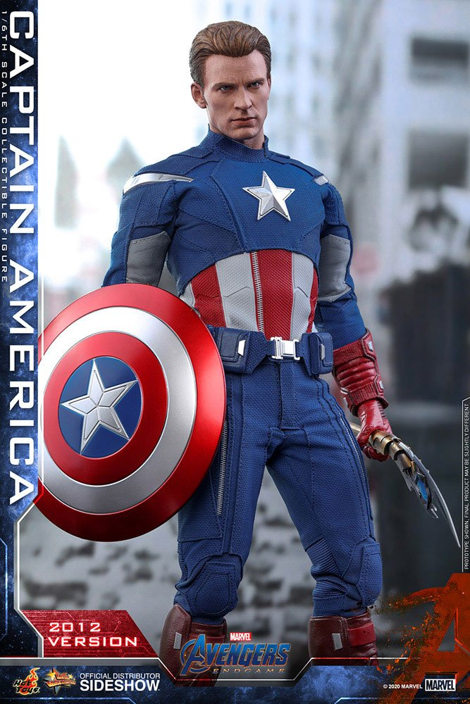 Hot Toys Avengers: Endgame Captain America (2012 Version) 1/6 Action Figure