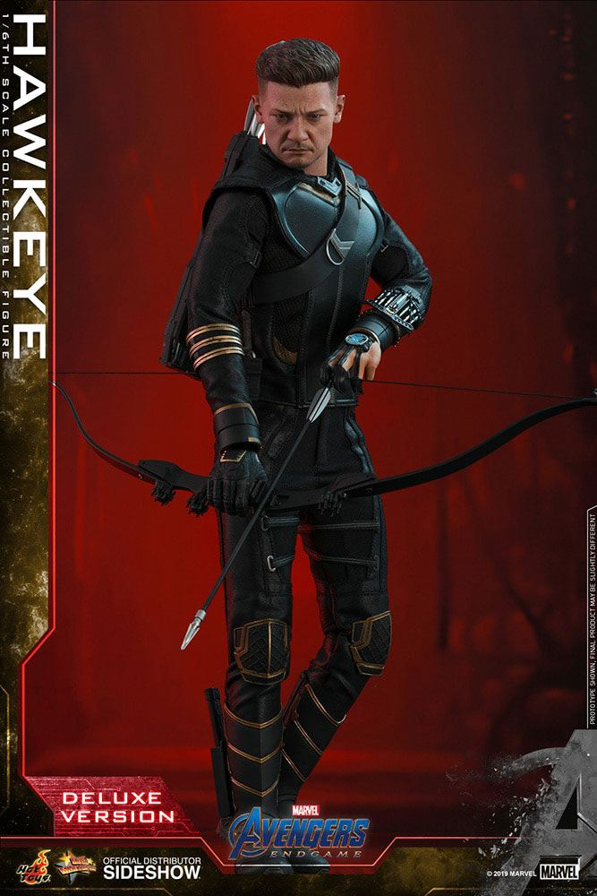 Hot Toys Avengers: Endgame Hawkeye Deluxe 1/6 Action Figure