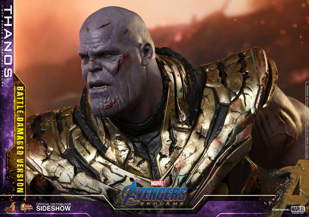 Hot Toys Avengers: Endgame Thanos Battle Damaged Version 1/6 Action Figure