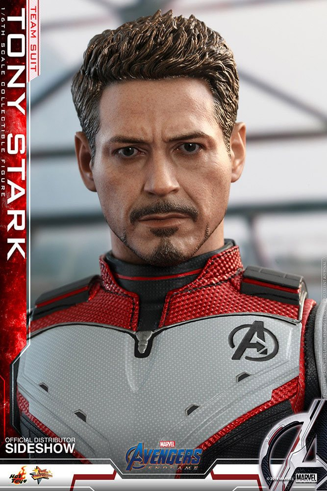 Hot Toys Avengers: Endgame Tony Stark (Team Suit) 1/6 Action Figure