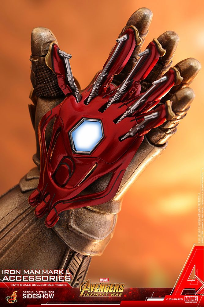 Hot Toys Avengers: Infinity War Accessories Collection Series Iron Man Mark L Accessories