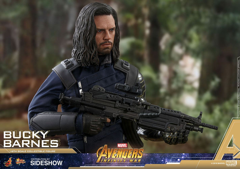 Hot Toys Avengers: Infinity War Bucky Barnes 1/6 Action Figure