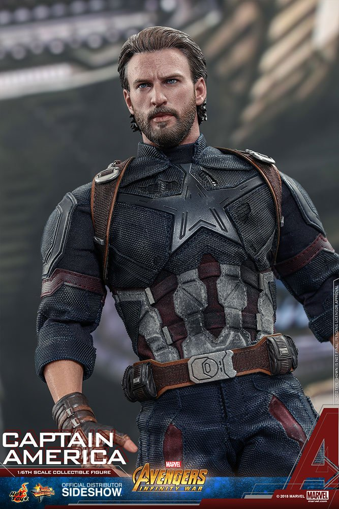Hot Toys Avengers: Infinity War Captain America 1/6 Action Figure