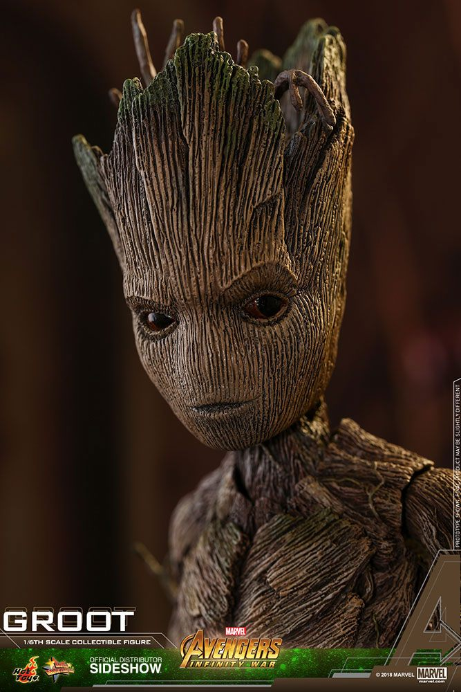 Hot Toys Avengers: Infinity War Groot 1/6 Action Figure