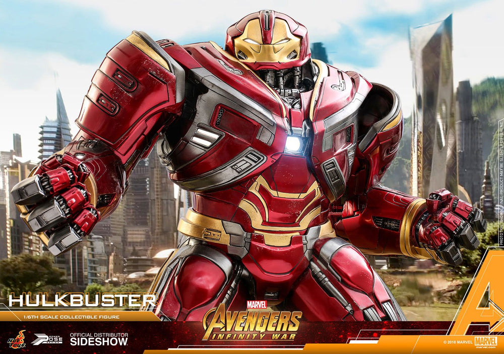 Hot Toys Avengers: Infinity War Hulkbuster Power Pose Series 1/6 Action Figure