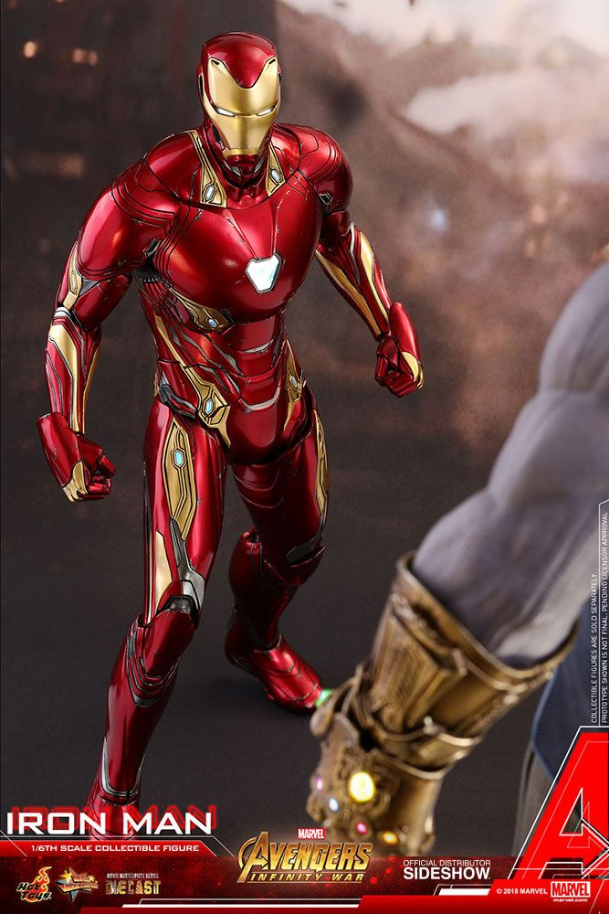 Hot Toys Avengers: Infinity War Iron Man Diecast 1/6 Action Figure