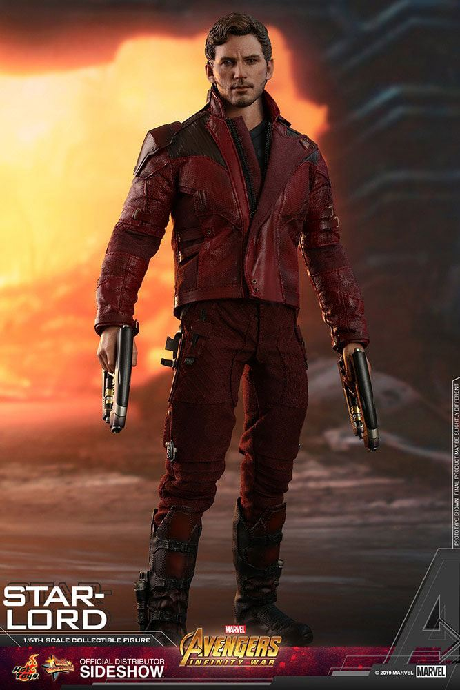 Hot Toys Avengers: Infinity War Star-Lord 1/6 Action Figure