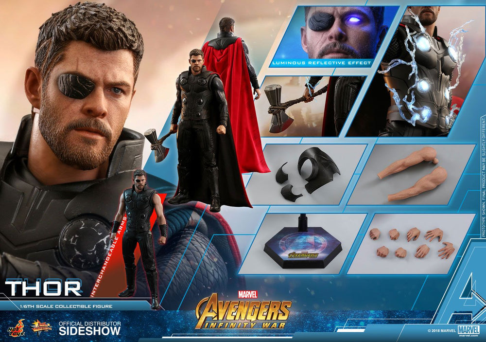 Hot Toys Avengers: Infinity War Thor 1/6 Action Figure