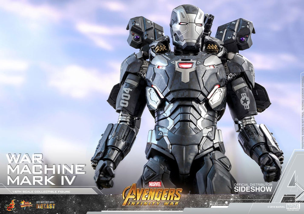 Hot Toys Avengers: Infinity War War Machine Mark IV Diecast 1/6 Action Figure
