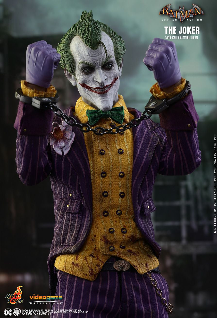 Hot Toys Batman Arkham Knight The Joker 1/6 Action Figure - Movie Figures - 10