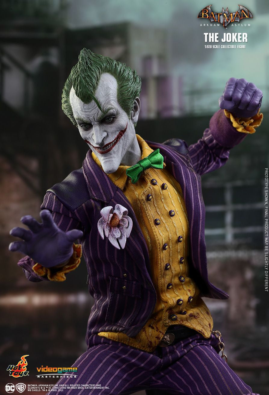 Hot Toys Batman Arkham Knight The Joker 1/6 Action Figure - Movie Figures - 11
