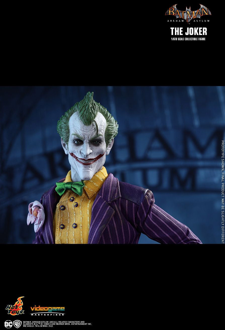 Hot Toys Batman Arkham Knight The Joker 1/6 Action Figure - Movie Figures - 14
