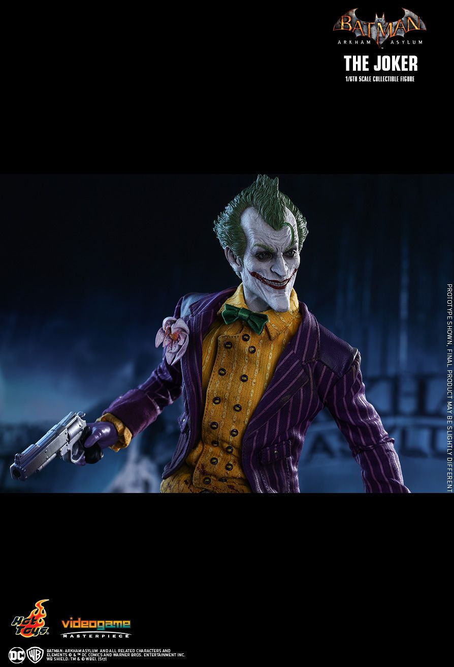 Hot Toys Batman Arkham Knight The Joker 1/6 Action Figure - Movie Figures - 15