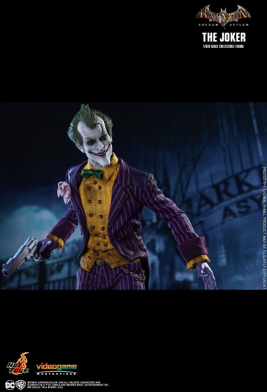 Hot Toys Batman Arkham Knight The Joker 1/6 Action Figure - Movie Figures - 16
