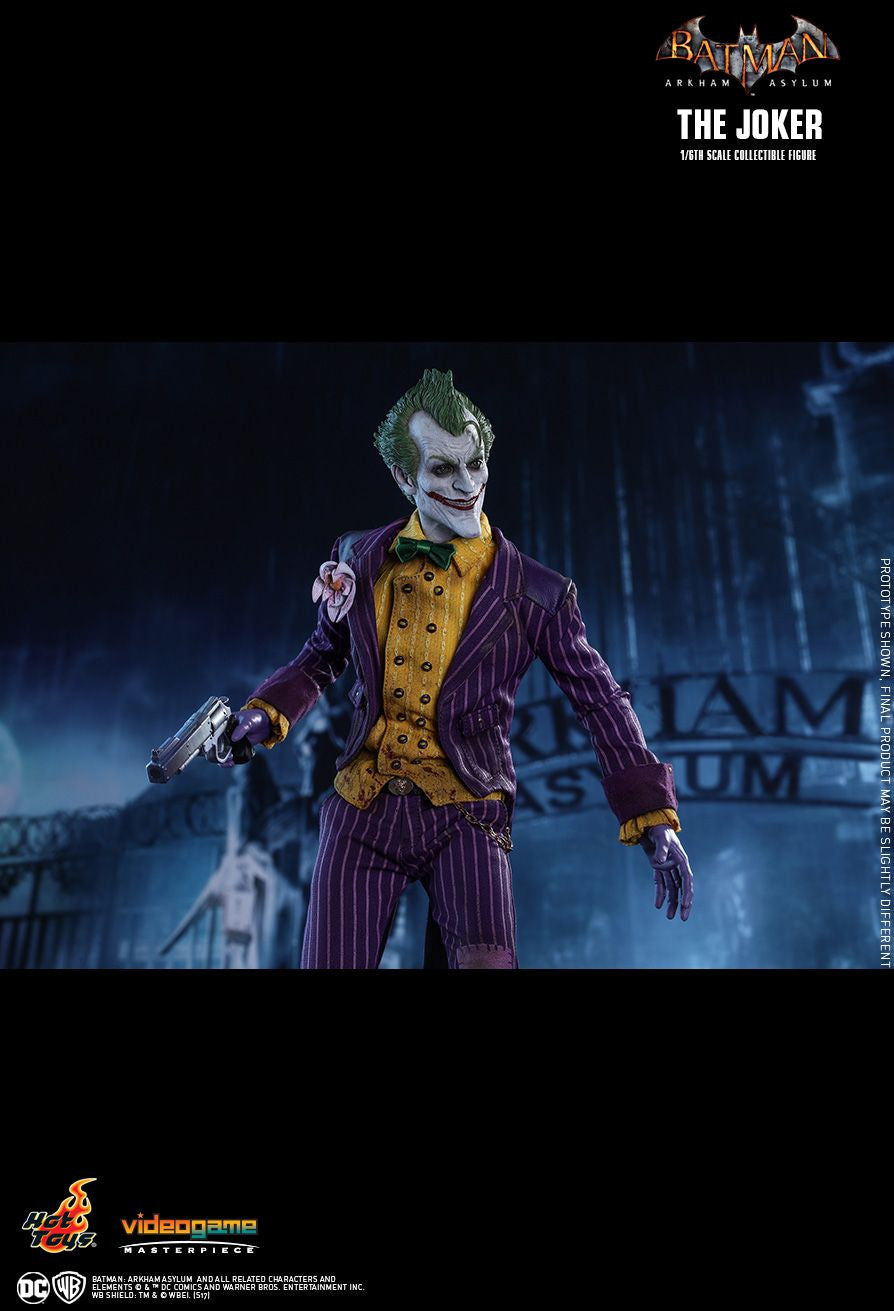 Hot Toys Batman Arkham Knight The Joker 1/6 Action Figure - Movie Figures - 17