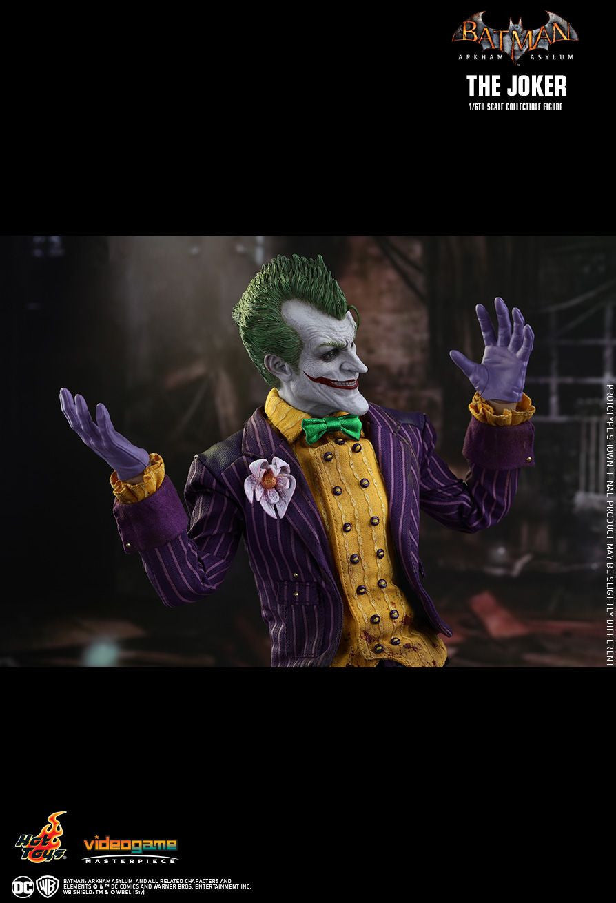 Hot Toys Batman Arkham Knight The Joker 1/6 Action Figure - Movie Figures - 18