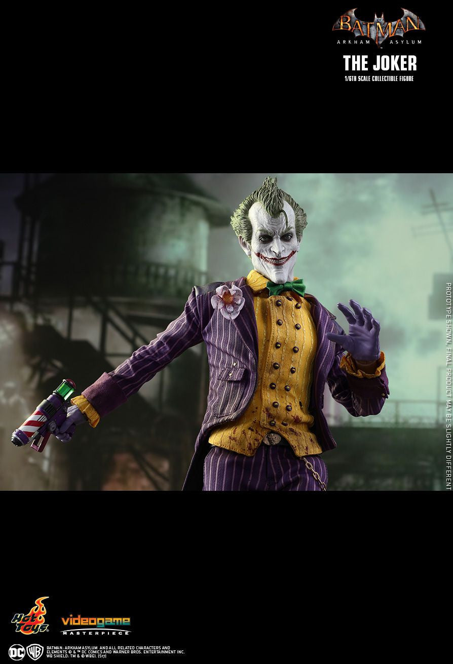 Hot Toys Batman Arkham Knight The Joker 1/6 Action Figure - Movie Figures - 21