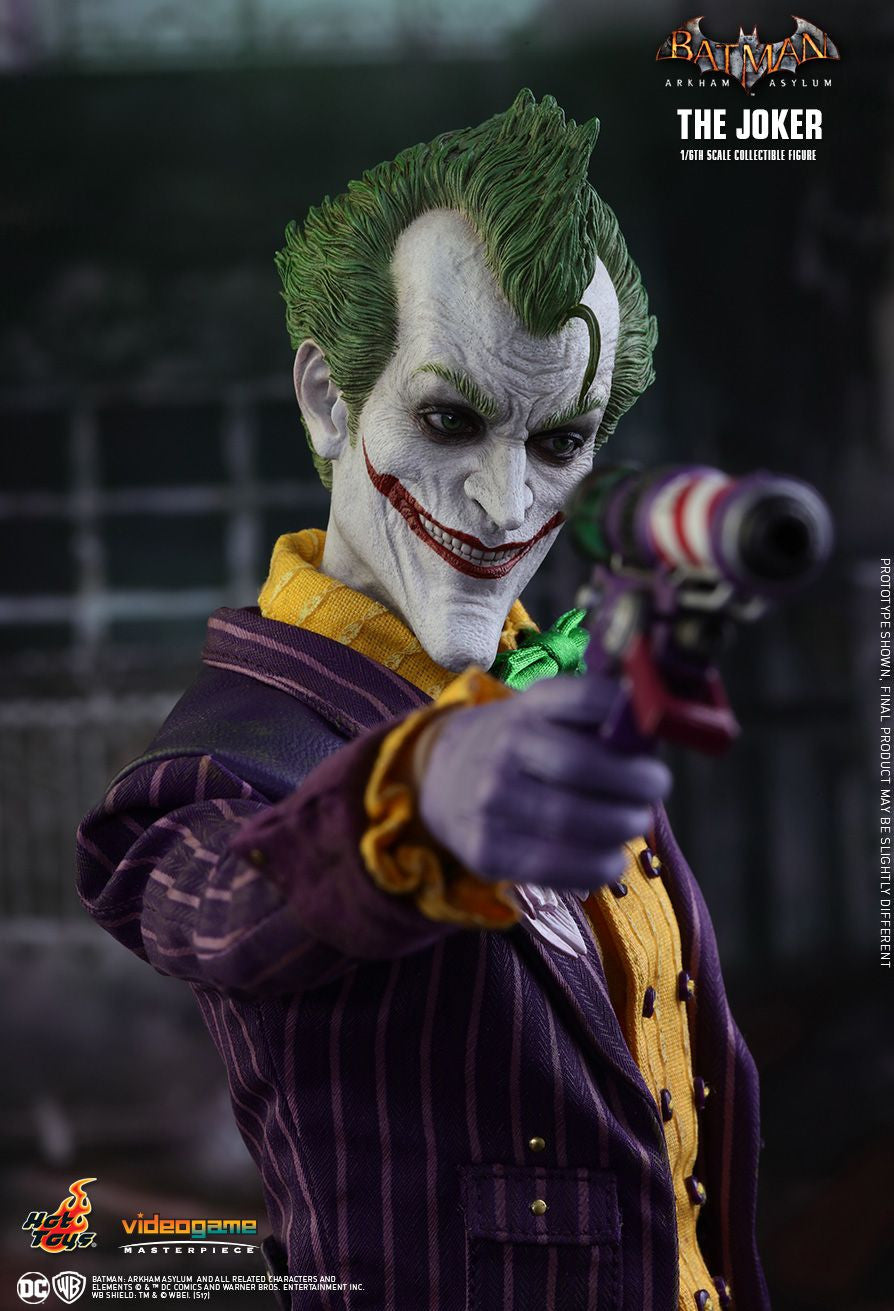 Hot Toys Batman Arkham Knight The Joker 1/6 Action Figure - Movie Figures - 22