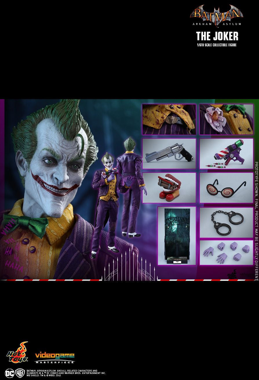 Hot Toys Batman Arkham Knight The Joker 1/6 Action Figure - Movie Figures - 23