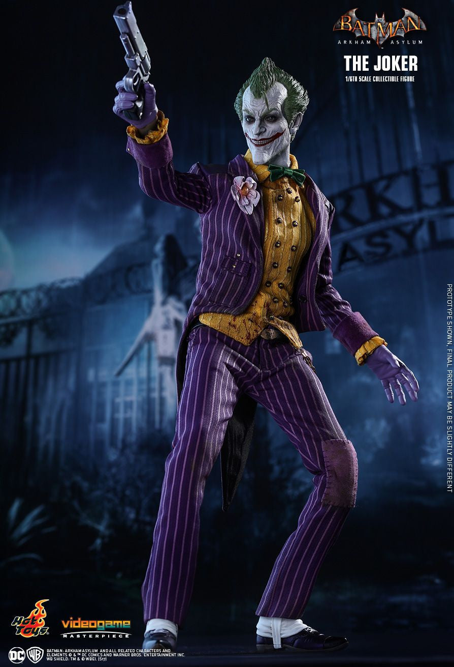 Hot Toys Batman Arkham Knight The Joker 1/6 Action Figure - Movie Figures - 4