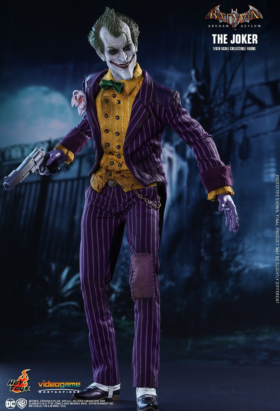 Hot Toys Batman Arkham Knight The Joker 1/6 Action Figure - Movie Figures - 5