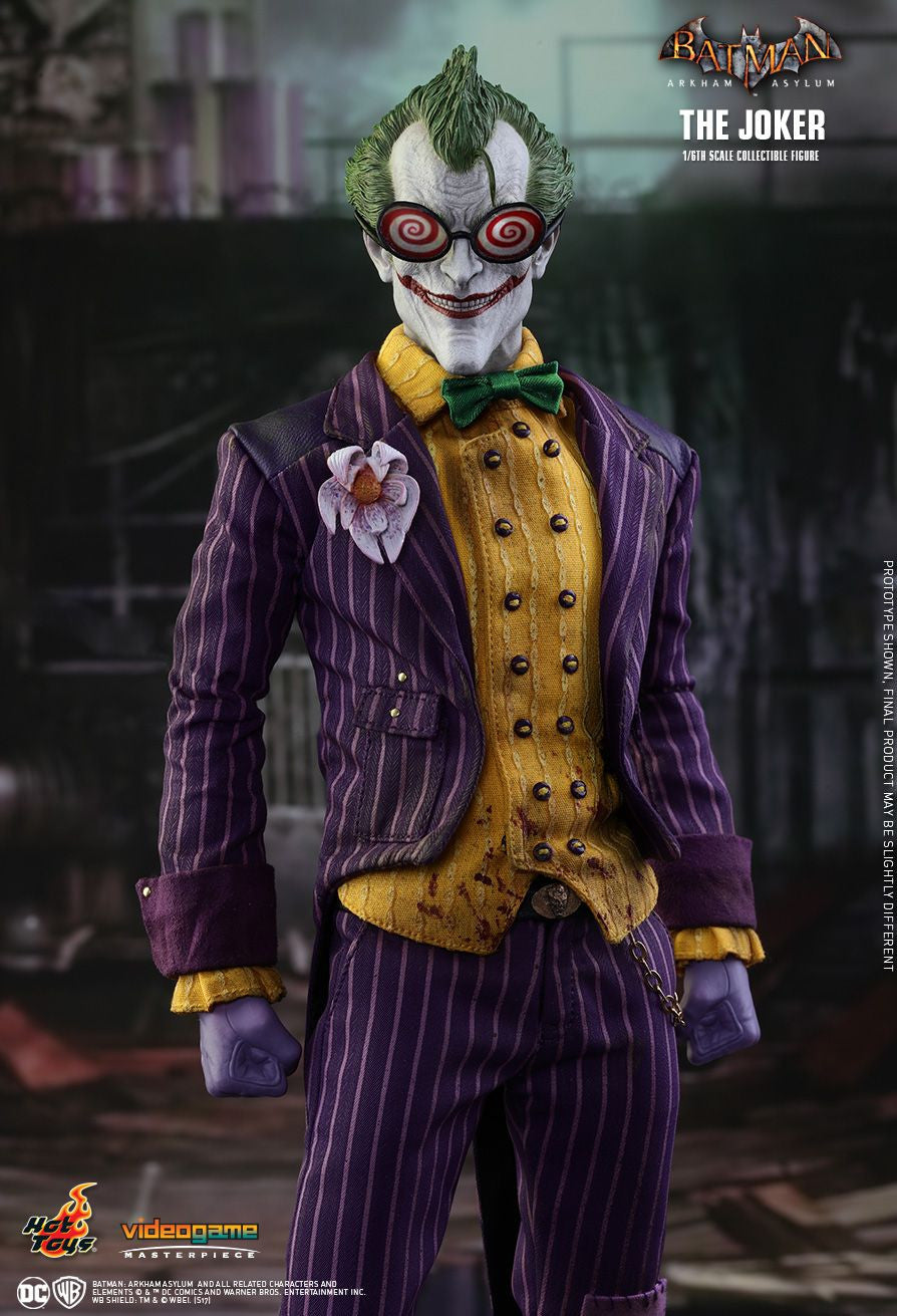 Hot Toys Batman Arkham Knight The Joker 1/6 Action Figure - Movie Figures - 6