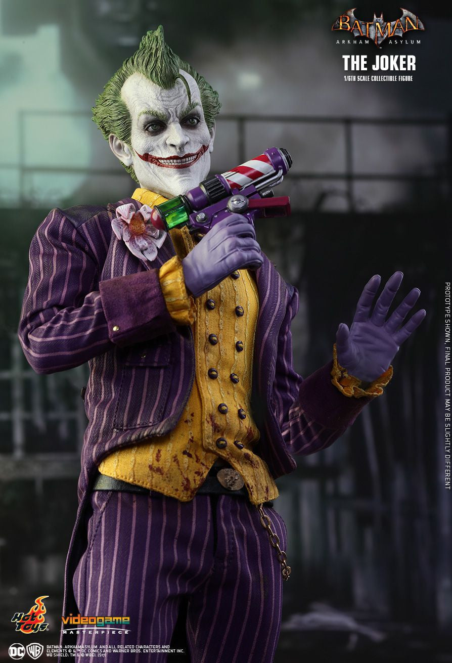Hot Toys Batman Arkham Knight The Joker 1/6 Action Figure - Movie Figures - 7