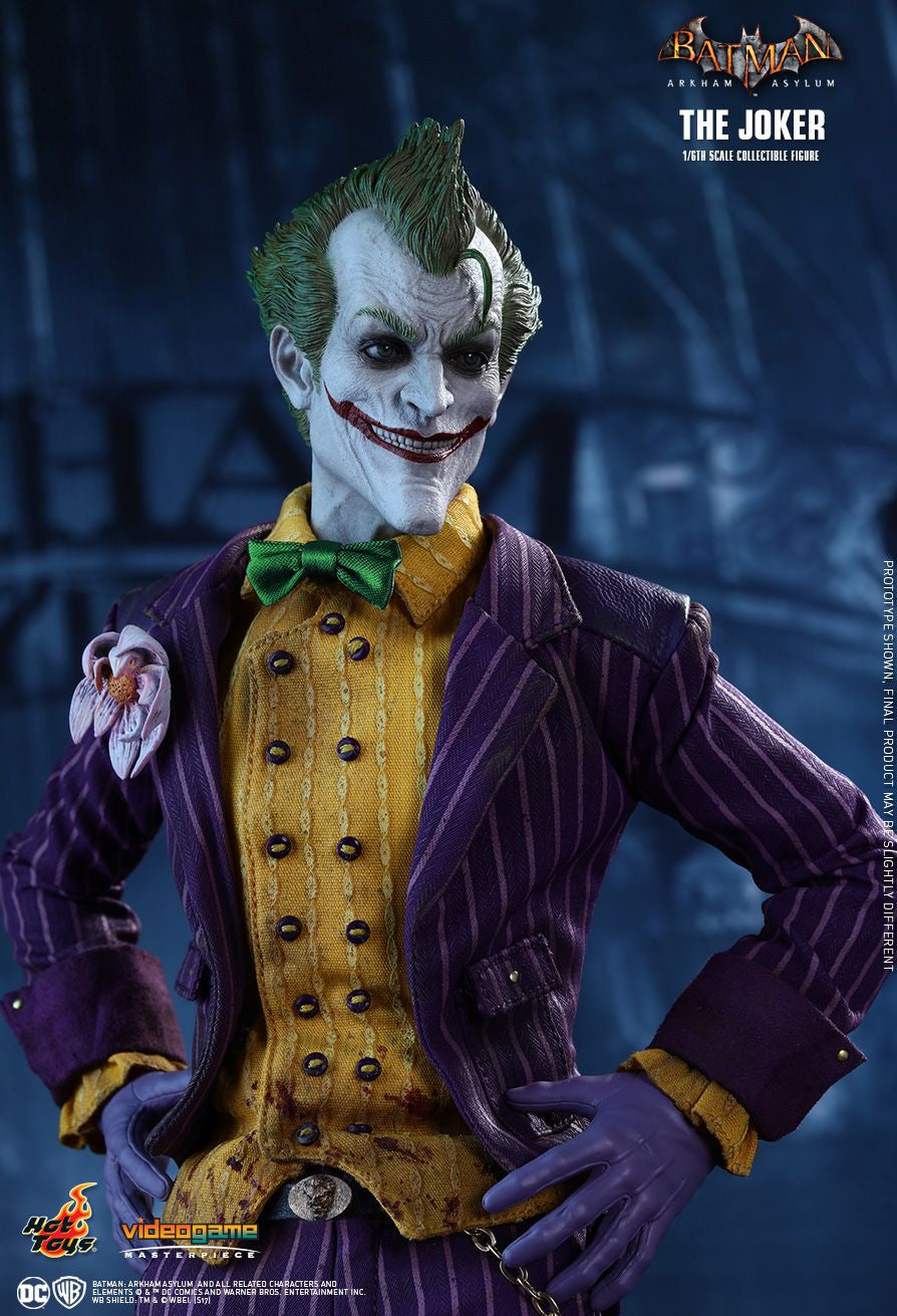 Hot Toys Batman Arkham Knight The Joker 1/6 Action Figure - Movie Figures - 8
