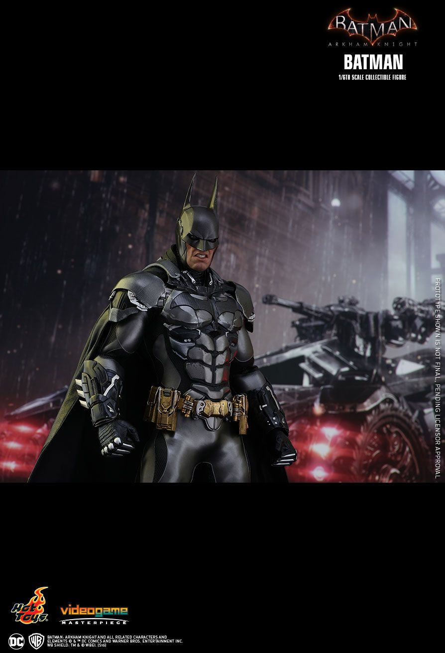 Hot Toys Batman Arkham Knight Batman 1/6 Action Figure - Movie Figures - 11