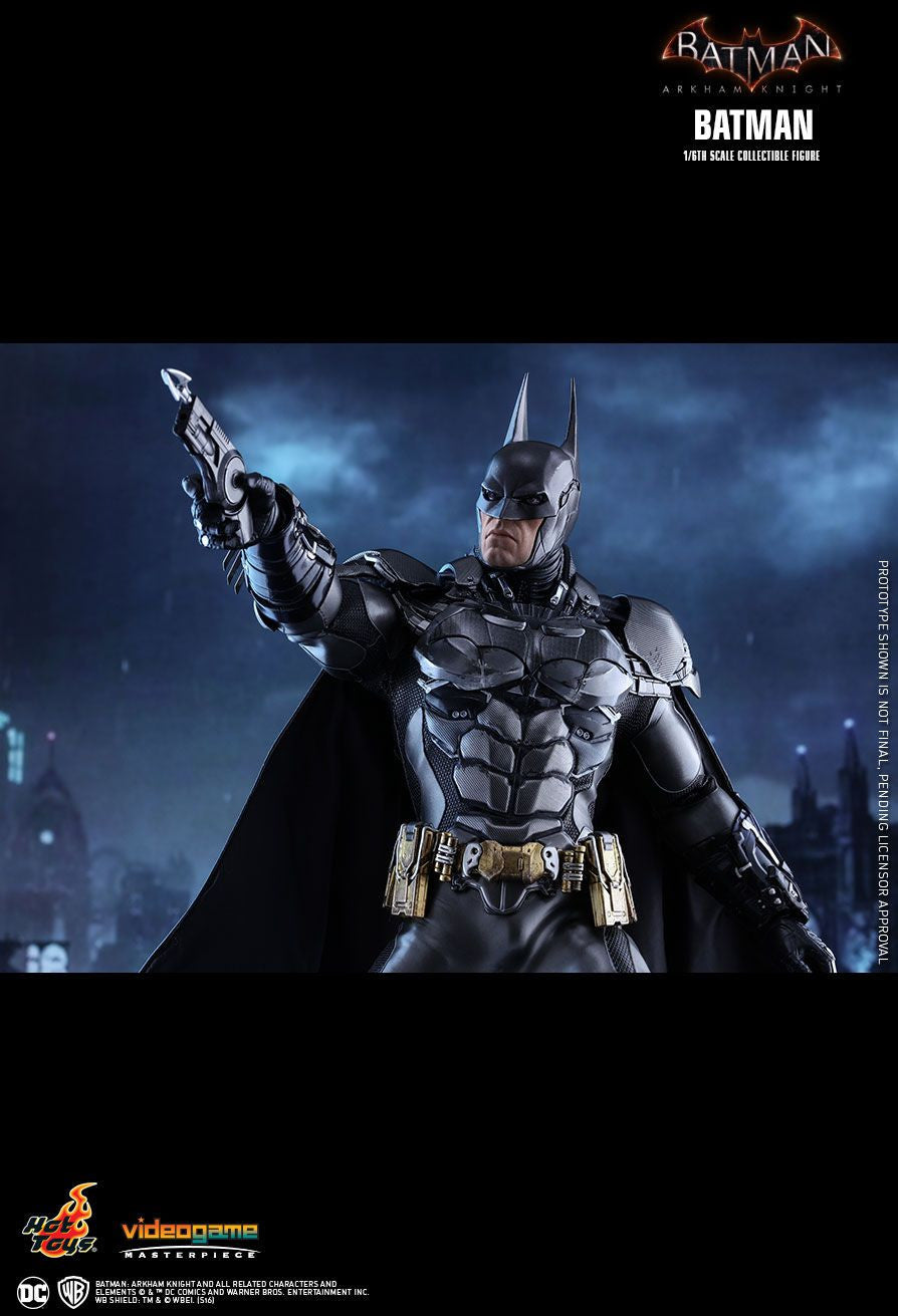 Hot Toys Batman Arkham Knight Batman 1/6 Action Figure - Movie Figures - 12
