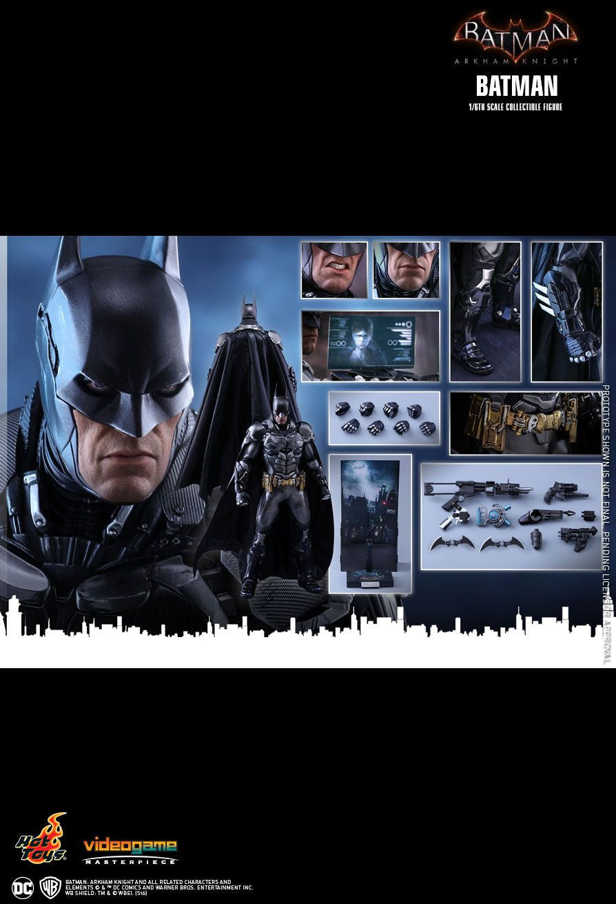 Hot Toys Batman Arkham Knight Batman 1/6 Action Figure - Movie Figures - 25