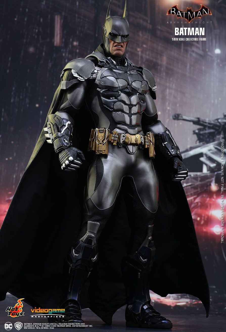 Hot Toys Batman Arkham Knight Batman 1/6 Action Figure - Movie Figures - 3