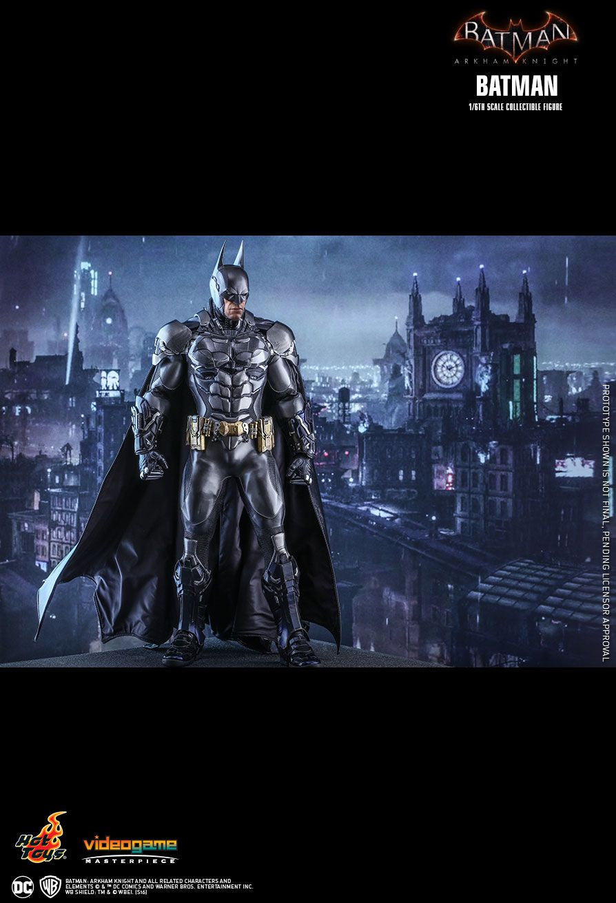 Hot Toys Batman Arkham Knight Batman 1/6 Action Figure - Movie Figures - 5