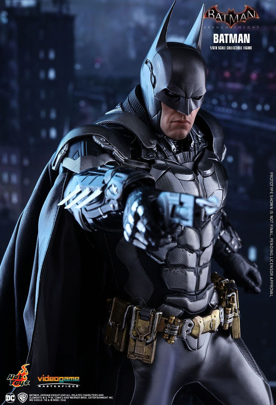 Hot Toys Batman Arkham Knight Batman 1/6 Action Figure - Movie Figures - 9