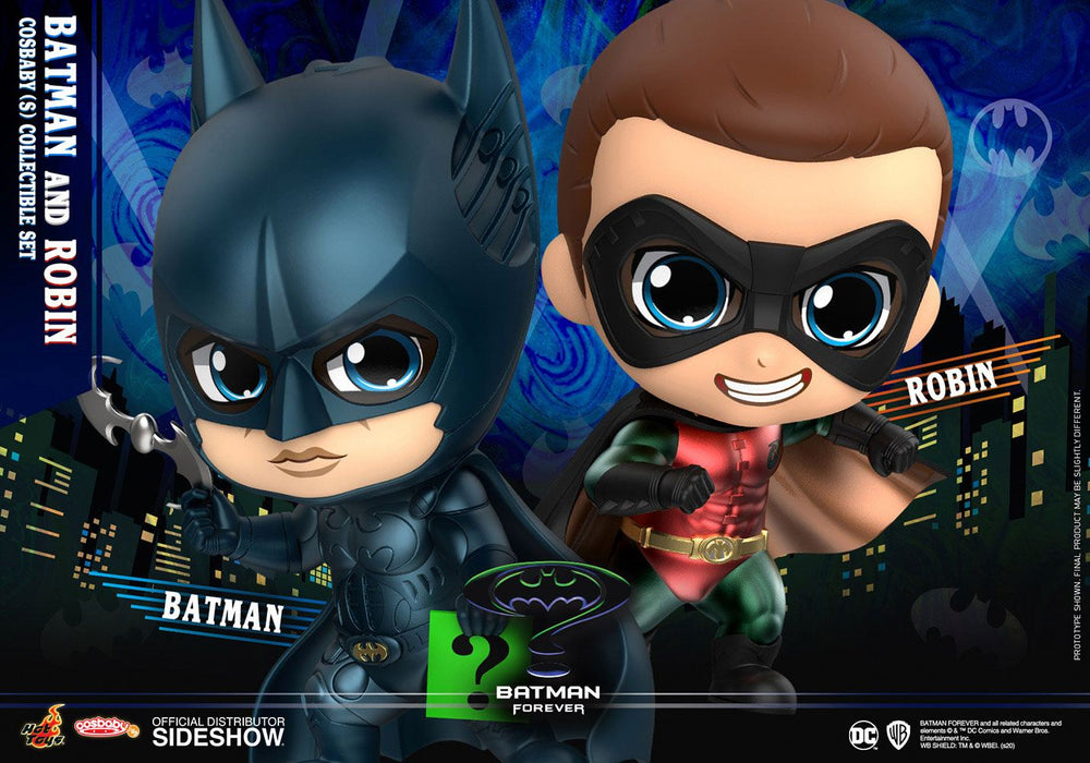 Hot Toys Batman Forever Batman & Robin Cosbaby Mini Figure 2-Pack