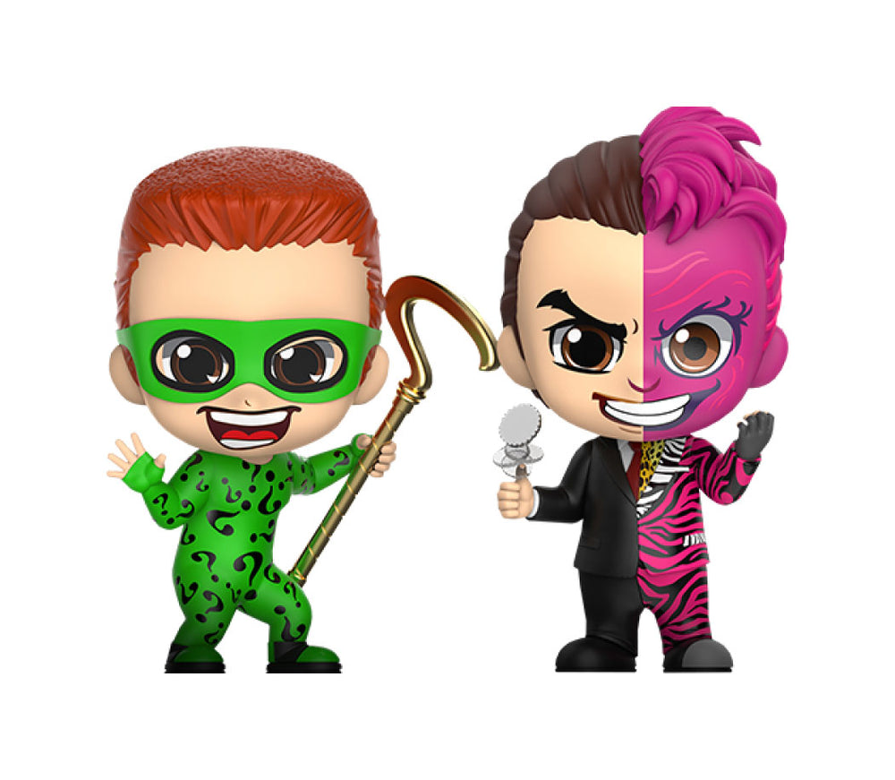 Hot Toys Batman Forever The Riddler & Two-Face Cosbaby Mini Figure 2-Pack
