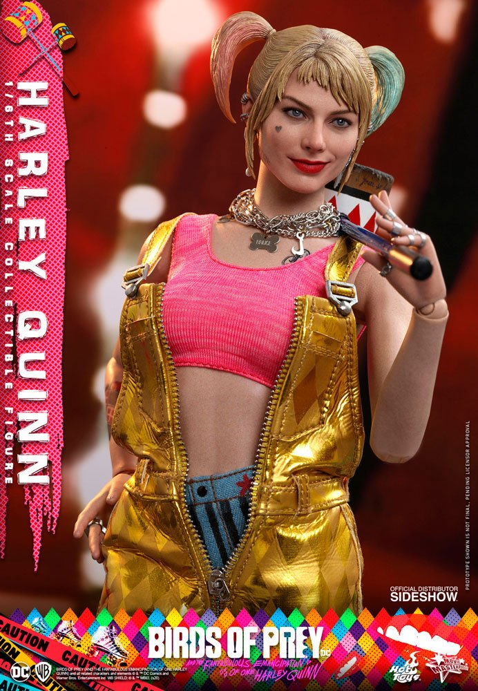 Hot Toys Birds of Prey Harley Quinn 1/6 Action Figure