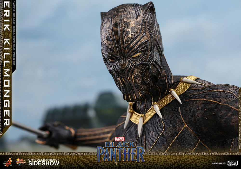 Hot Toys Black Panther Movie Erik Killmonger 1/6 Action Figure