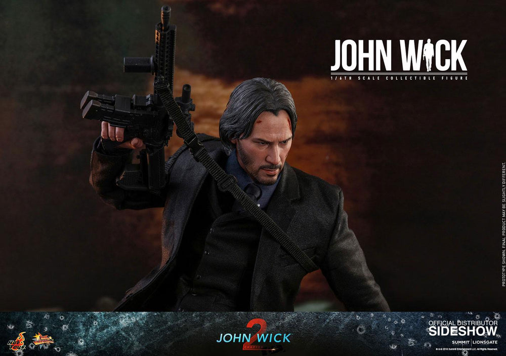 Hot Toys John Wick: Chapter 2 John Wick 1/6 Action Figure