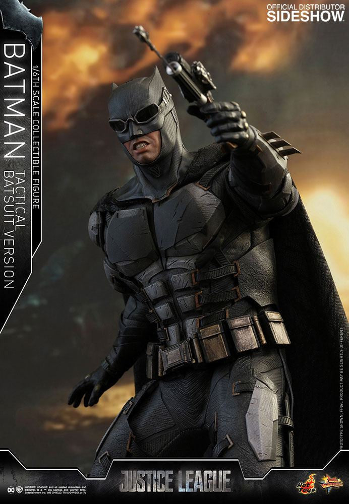 Hot Toys Justice League Batman Tactical Batsuit Version 1/6 Action Figure